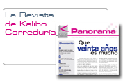 Panorama · La Revista de Kalibo Correduria