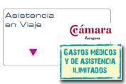 Asistencia en Viaje en el extranjero. Acuerdo de colaboración con Cámara de Zaragoza